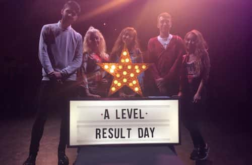 WATCH: Sunderland College students shine bright after receiving their A-level results