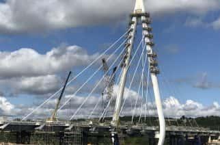 WATCH: New Wear Crossing bridge is almost complete