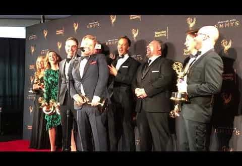 University of Sunderland graduate wins Emmy Award for his role on The Late Late Show with James Corden