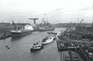 River Wear, 1961. From Tyne & Wear Archives & Museums.
