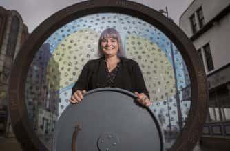 Naomi Austin at Keel Square in Sunderland Picture: DAVID WOOD