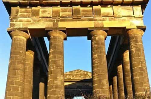 Amazing close up of Penshaw Monument. (@marsbar2764)