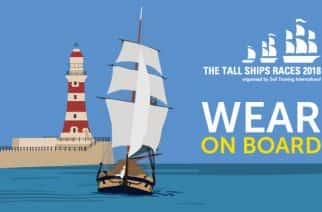 Top 10 tallest ships signed up for Tall Ships Race Sunderland 2018