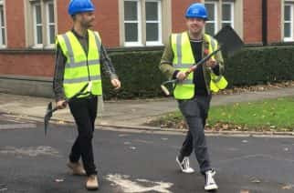 WATCH: Kaiser Chiefs pair back the building of North East's first music therapy centre in Newcastle