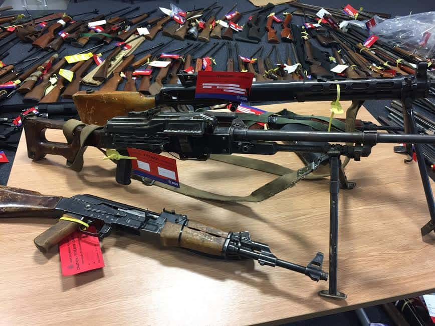 From replica firearms to world war weapons – A North East firearms