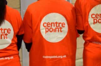 Centrepoint t-shirts at the event at Sunderland's Stadium of Light on November 2, 2017. Photo by Martin Simm.