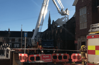 Jarrow Auction Room Fire Takes More Than Eight Hours To Put Out