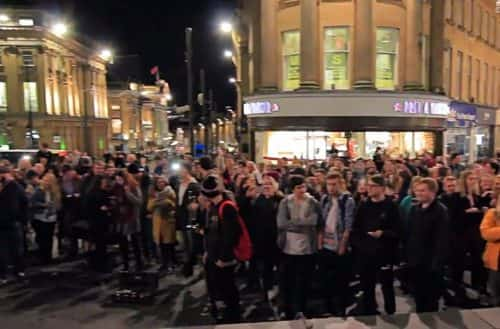 Could Newcastle be set to host another mass sing-a-long?