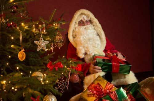 Father Christmas at Beamish