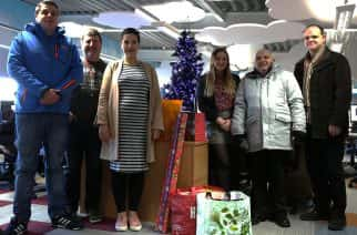 University of Sunderland mediaHUB donates needed items to Elim Food Bank