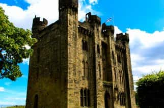 The renovation of Hylton Castle