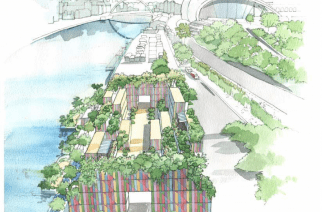 Tyne River urban garden & leisure space set to create 100 jobs in Newcastle