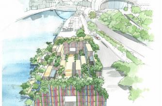 Tyne River urban garden & leisure space set to create 100 jobs in Newcastle
