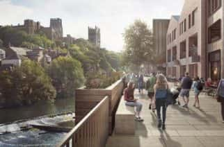 Durham Riverside's regeneration and building of a new Odeon cinema is well underway