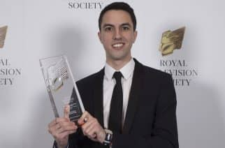 Sunderland student wins Royal Television Society Award