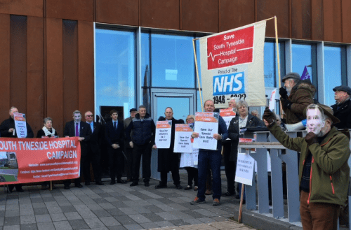 Campaigners Angry As South Tyneside Hospital Services Slashed