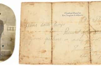 Personal letter from Charlie Chaplin attracts attention to a North East auction house.