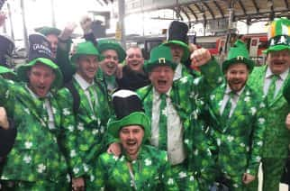 First Ever Huge St Patrick's Day Event To Be Held In Newcastle's Times Square.