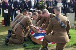 Durham Light Infantry Soldier Finally Laid To Rest 103 Years After His Death