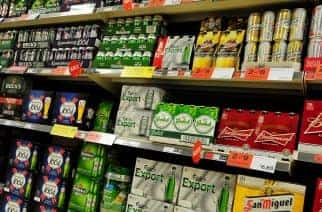 File photo dated 28/12/11 of alcohol on a supermarket shelf, as the Government has said it will continue to look at minimum pricing for alcohol in light of a new report which argues it could improve the nation's health.
