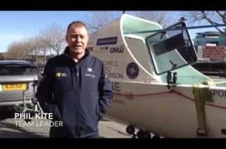 Team Tyne Innovation prepare for the world's toughest rowing race