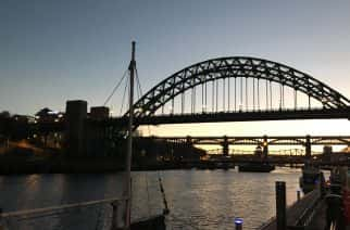 Is the Tyne Bridge due a new coat of paint?