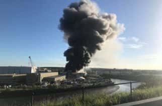 Deptford Fire: Environment Agency monitoring air quality after three-day recycling plant blaze