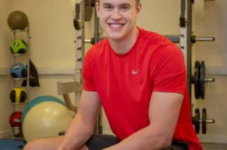 James Allan (22) from Sunderland University who has been selected for an internship with Southhampton FC Under 18's as a strength and conditioning coach Picture: DAVID WOOD