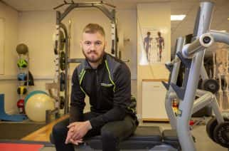Sports development officer Rob Graham at Sunderland University Picture: DAVID WOOD