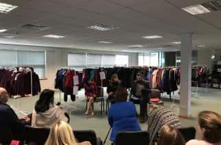 Shadow education secretary Angela Rayner backs community school clothing scheme in North Tyneside
