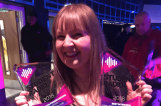 Spark strikes gold for Sunderland at the Student Radio Awards