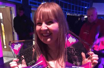 Spark strikes gold for Sunderland at the Student Radio Awards