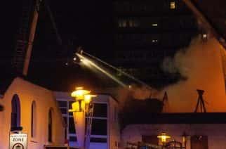 Blandford Street fire: firefighters tackle major blaze in Sunderland City Centre