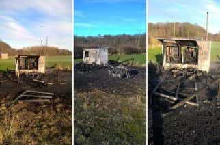 Investigation launched after arson attack at Newcastle sports ground