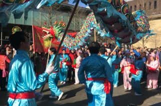 Chinese New Year takes over Newcastle's Chinatown