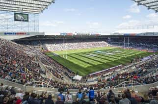 St James Park hosted Rugby League's Magic Weekend for four consecutive years (2015 - 2018)