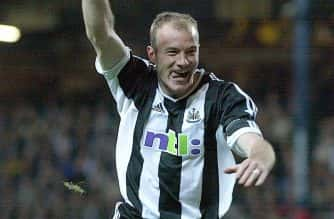 File photo dated 23-04-2002 of Newcastle's Alan Shearer