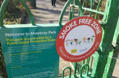 Smokefree scheme by Sunderland City Council