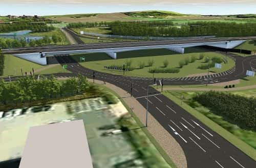 £125m upgrade at Testos roundabout to ease congestion and boost businesses