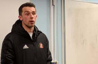 Wembley-bound captain George Honeyman insists Sunderland's main aim is still automatic promotion