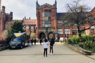 Newcastle University entrance