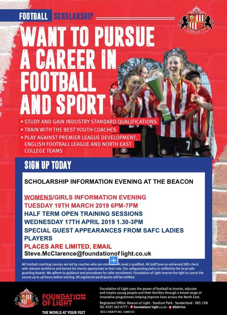 Sunderland sports facility opens scholarship trial for young