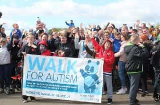Record-breaking numbers for annual Walk for Autism at Herrington Country Park