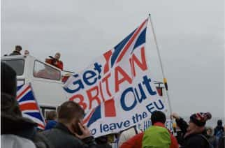 Nigel Farage leads 'Leave Means Leave' march from Sunderland to London