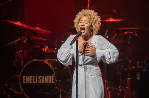 London, UK. Monday 20 May 2019.  Emeli Sandé performing 'Real Life' Album Showcase at The Sadler's Wells Theatre