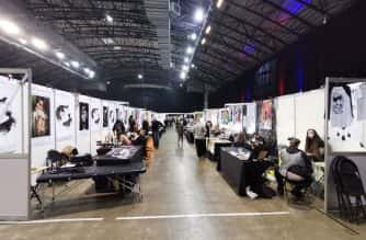 Over 200 artists attended Big North Tattoo Show 2019 in Newcastle