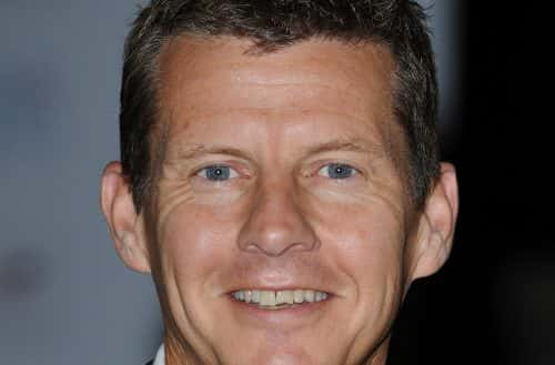 Steve Cram arriving at the Olympic Golden Ball in the Natural History Museum, London.