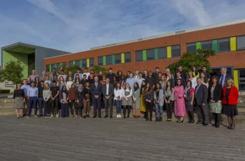 Sunderland University welcomes it's first cohort of medical students to their School of Medicine Picture: DAVID WOOD