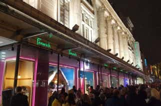 Last year's Fenwick's Christmas window display drew the crowds as usual.