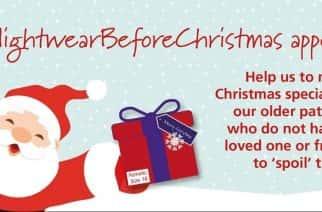 #NightwearBeforeChristmas provides donations to Sunderland Royal Hospital
